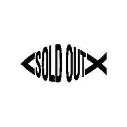 mark for SOLD OUT, trademark #85598508