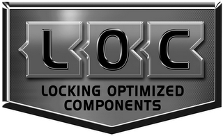 mark for LOC LOCKIN OPTIMIZED COMPONENTS, trademark #85598556