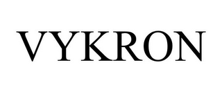 mark for VYKRON, trademark #85598592