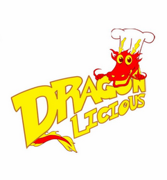 mark for DRAGON LICIOUS, trademark #85598607