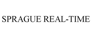 mark for SPRAGUE REAL-TIME, trademark #85598713