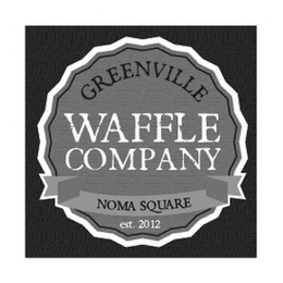 mark for GREENVILLE WAFFLE COMPANY NOMA SQUARE EST. 2012, trademark #85598962