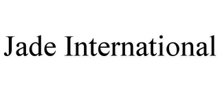 mark for JADE INTERNATIONAL, trademark #85598968