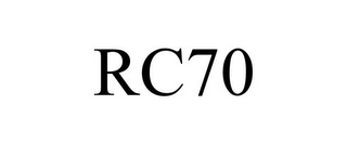 mark for RC70, trademark #85599109