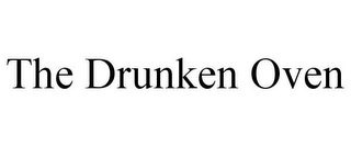 mark for THE DRUNKEN OVEN, trademark #85599303
