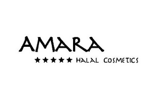 mark for AMARA HALAL COSMETICS, trademark #85599729