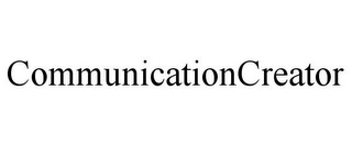 mark for COMMUNICATIONCREATOR, trademark #85599737