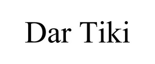 mark for DAR TIKI, trademark #85599756