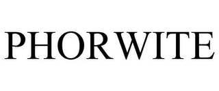 mark for PHORWITE, trademark #85599954
