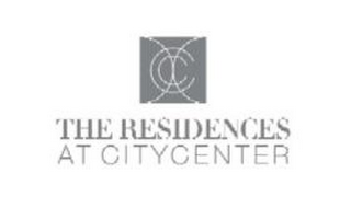 mark for THE RESIDENCES AT CITYCENTER CC, trademark #85600030
