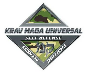 mark for KRAV MAGA UNIVERSAL FITNESS SELF DEFENSE FIGHTING, trademark #85600062