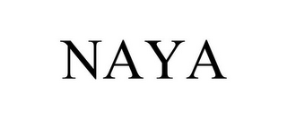 mark for NAYA, trademark #85600294