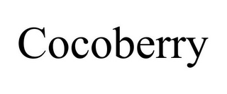 mark for COCOBERRY, trademark #85600528