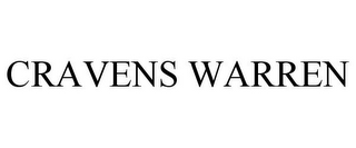 mark for CRAVENS WARREN, trademark #85600533