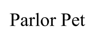 mark for PARLOR PET, trademark #85600603