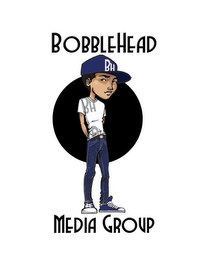 mark for BOBBLEHEAD MEDIA GROUP BH BH, trademark #85600685
