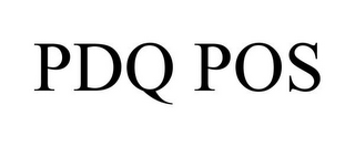 mark for PDQ POS, trademark #85600789