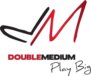 mark for DM DOUBLEMEDIUM PLAY BIG, trademark #85600941