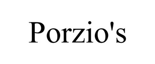 mark for PORZIO'S, trademark #85600983