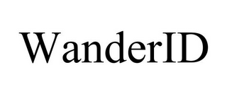 mark for WANDERID, trademark #85601006