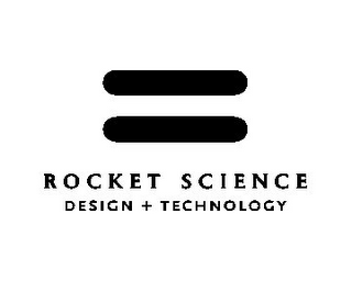 mark for ROCKET SCIENCE DESIGN + TECHNOLOGY, trademark #85601187