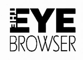 mark for THE EYE BROWSER, trademark #85601348