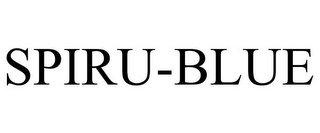 mark for SPIRU-BLUE, trademark #85601461