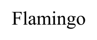 mark for FLAMINGO, trademark #85601471