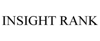 mark for INSIGHT RANK, trademark #85601668