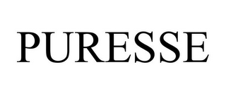 mark for PURESSE, trademark #85601669