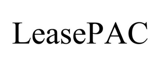 mark for LEASEPAC, trademark #85601923
