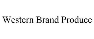 mark for WESTERN BRAND PRODUCE, trademark #85602139