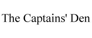 mark for THE CAPTAINS' DEN, trademark #85602355