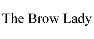 mark for THE BROW LADY, trademark #85602920