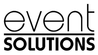 mark for EVENT SOLUTIONS, trademark #85602963