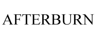 mark for AFTERBURN, trademark #85603012