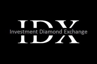 mark for IDX INVESTMENT DIAMOND EXCHANGE, trademark #85603204