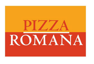 mark for PIZZA ROMANA, trademark #85603231