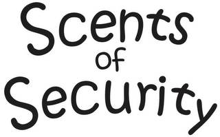 mark for SCENTS OF SECURITY, trademark #85603320