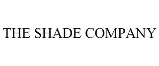 mark for THE SHADE COMPANY, trademark #85603500