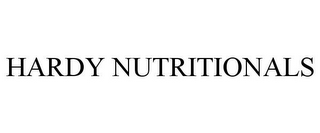 mark for HARDY NUTRITIONALS, trademark #85603576