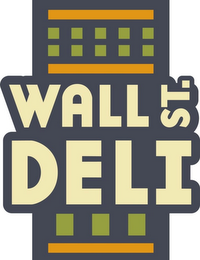 mark for WALL ST. DELI, trademark #85603629