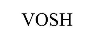 mark for VOSH, trademark #85603866