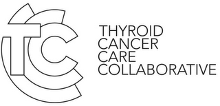 mark for TCCC THYROID CANCER CARE COLLABORATIVE, trademark #85603931