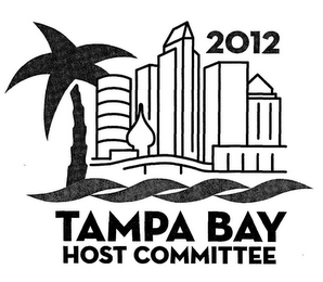 mark for 2012 TAMPA BAY HOST COMMITTEE, trademark #85603960