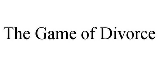 mark for THE GAME OF DIVORCE, trademark #85604219