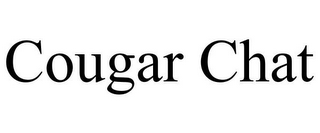 mark for COUGAR CHAT, trademark #85604276
