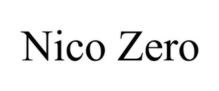 mark for NICO ZERO, trademark #85604311