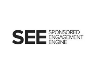 mark for SEE SPONSORED ENGAGEMENT ENGINE, trademark #85604820