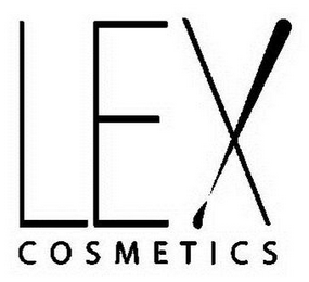 mark for LEX COSMETICS, trademark #85605067